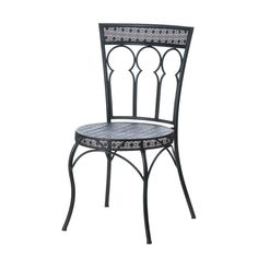 Moroccan Style Outdoor Patio Chair - ShoppersDelight