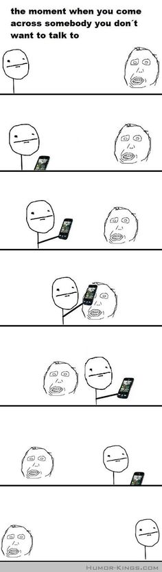 Cell phone camouflage...are you guilty?