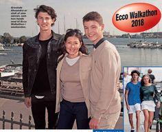 This year Princess Alexandra and Prince Nikolai attended the Ecco walkathon. Prince Nikolai turned 19 on Friday Prince Felix Of Denmark, Princess Alexandra Of Denmark, Danish Prince, Queen Margrethe Ii, Danish Royal Family, Danish Royals, Crown Princess Mary, Royal Families, Queens