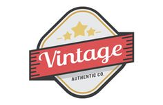 The Vintage Badge Logo Template is perfect to help you create a #retro logo all your own. This logo comes in color and black and white, and in multiple formats.