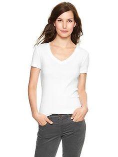 Favorite short-sleeve V-neck tee   Gap