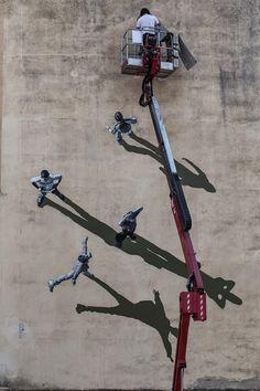 HouHouHaHa – The Art of SharingLe street-art de Strok !