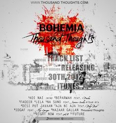 BOHEMIA | Thousand Thoughts Tracklist.