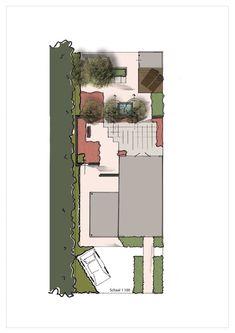 Jardin sobre vue en plan by 4landscape cr ations 4landscape pinterest front yards and gardens - Tuinontwerp ...