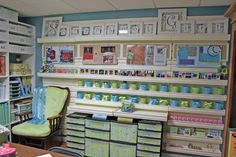 This site has many beautiful craft rooms.