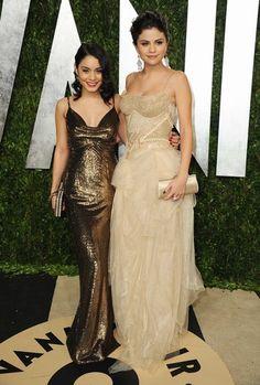 Vanessa Hudgens y Selena Gomez - Fiesta de Vanity Fair