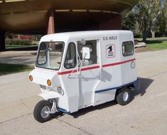 Car of the week: 1963 Westcoaster Mailster Rick Sprague never had a secret desire to be a mail carrier. But he could never hide his affinity with the transportation they once used. Piaggio Ape, Going Postal, 3rd Wheel, Car Prices, Vintage Trucks, Collector Cars, Metal Crafts, Post Office, Fun To Be One