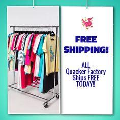 557db7b42bf6de FREE Standard Shipping!!! Qvc. Quacker Factory ...