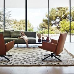 Pilot by Knoll® is an innovative swivel lounge chair that marries visual and material lightness with exceptional comfort. Contemporary Furniture, Contemporary Design, Modern Coastal, Living Room Furniture, Living Rooms, Outdoor Furniture Sets, Furniture Design, Lounge, Interior Design