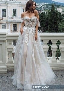2019 Princess Wedding Dresses Off The Shoulder Sweetheart Applique Tulle Wedding Gowns See-through Robe De Mariee Back Buttons Fairy Wedding Dress, Applique Wedding Dress, Wedding Dress Sleeves, Long Wedding Dresses, Tulle Wedding, Cheap Wedding Dress, Sweetheart Wedding Dress, Bridal Dresses, Bridesmaid Dresses