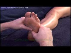 Sports Massage Techniques for treating Plantar Fasciitis