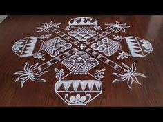 Boghi special rangoli (14×2×2) dots... - YouTube