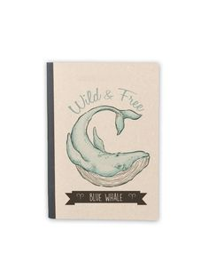 Image of Blue Whale Notebook