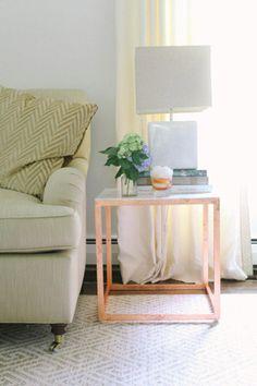 DIY IKEA Side Tables
