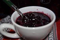 Dulceață de cireșe amare cu aromă de mentă Chocolate Fondue, Gem, Food And Drink, Tableware, Desserts, Mint, Te Amo, Tailgate Desserts, Dinnerware