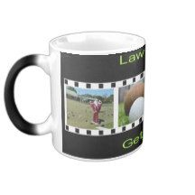 Get Out There And Bowl, Black Morphing Coffee Mug