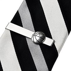 Basketball Tie Clip Gifts For Husband Fathers Day Gift Gift Box Included -- Read more  at the image link.