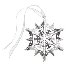 2012 Snowflake Christmas Ornament - Christmas Ornaments - Holiday - The Met Store