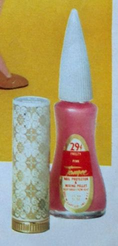 "Tangee (Geo. W. Luft Co., NY) ""Many Mini Colors"" Lipstick & Nail Polish, 1967"