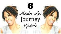 6 Month Loc Journey Update I Blonde Highlights on my Locs: At Home DIY