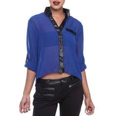 Chemisier bleu et noir Urban Chic, Ali, Street Wear, Collection, Ant, Streetwear, City Chic