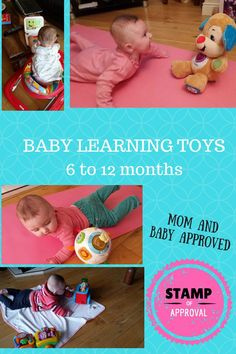 BEST baby learning toys are fun educational toys for infants!