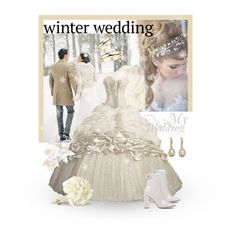 """""""Winter Wedding"""" by giovanina-001 ❤ liked on Polyvore featuring Gianvito Rossi"""