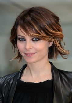 Ombre short hair.  OMG! This is my fave out of them so far!!!