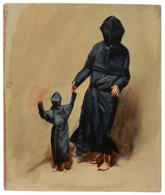 Michael Borremans, Black Mould at David Zwirner
