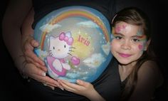 (Fotos) Pancitas pintadas fabulosas -Embarazo 34 semanas   Blog de BabyCenter