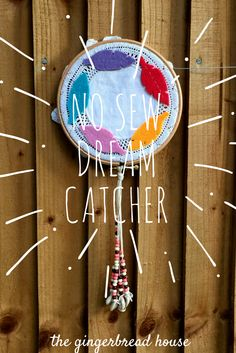 no sew dream catcher