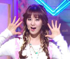 SNSD Seohyun cat ears headband