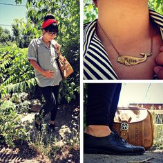 Maternity Style: cute detail shots of the mommy-to-be's style