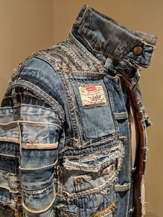 outfit plus size Punk Fashion, Denim Fashion, Denim Ideas, Recycle Jeans, Recycled Denim, Men's Denim, Denim Style, Vintage Denim, Stylish Outfits