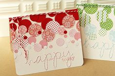 confetti look happy today card by Danielle Flanders