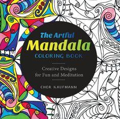 Book Review and Freebie: The Artful Mandala Coloring Book