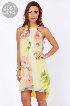 ethereal floral print chiffon overlay with shades of pink, green, and purple