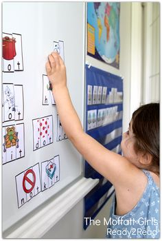 CVC word building!  An interactive activity to reinforce letter recognition and basic reading skills!