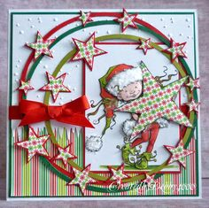 A Scrapjourney Christmas card
