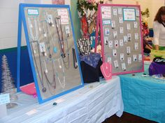 Sell Jewelry at Craft Shows: How to Set up a Jewelry Booth and
