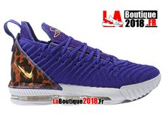 Nike LeBron 16 King Court Purple AO2588-500 Chaussures Officiel Nike Basketball Prix Pour Homme