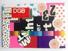 Postkarte Nr. 2 by Kefro for iHanna's DIY Postcard Swap Fall 2015 #diypostcardswap