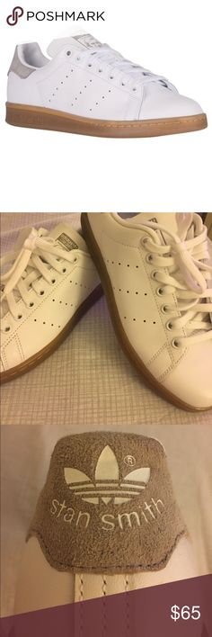 Brand New ADIDAS STAN SMITH gum sole originals Brand New ADIDAS STAN SMITH gum sole originals size 6.5 mens/8womens. New without box or tags. Never worn! adidas Shoes Athletic Shoes