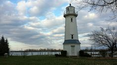 The iconic BLC Lighthouse is the perfect backdrop for your outdoor ceremony! The Niagara River behind it completes the picturesque scene. Outdoor Ceremony, Lighthouse, Buffalo, Wedding Stuff, Backdrops, Scene, River, Club, Light House