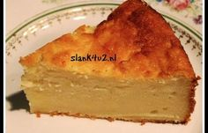 Kokos-cheesecake met ricotta Dit is een heel fijn, makkelijk , maar ook erg lekker recept! Je kunt deze cheesecake als ontbijt, lunch of als tussendoortje nemen. Voor ontbijt en lunch neem je 2 porties, voor een tussendoortje 1 portie. Wil je er een fase 1 Atkins recept van... #citroen #ei #eieren