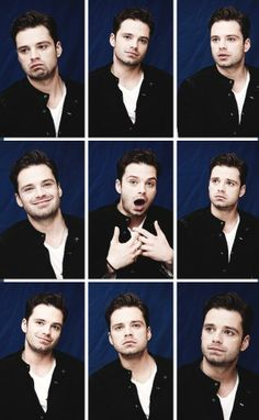 Sebastian Stan and his wonderful expressions. XD
