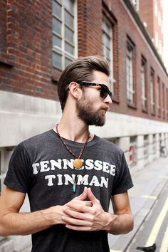 beardmodel:  100beards:  Justin: Great Marlborough St, London Taken from the new photo book '100 Beards', available at100beards.bigcartel.com  Justin Passmore (drooling