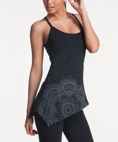 Look at this Black Sana Organic Camisole on #zulily today!