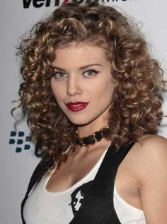 mid length curly hairstyles - Google Search