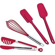 Conjunto de Utensílios Vermelho 4 Peças - Brinox 94,90 http://www.americanas.com.br/linha/285017/utilidades-domesticas/utensilios-de-cozinha?ofertas.offset=30
